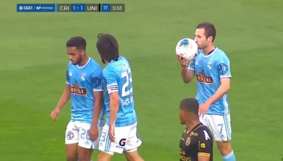 Gol de Horacio Calcaterra en Universitario vs Sporting Cristal por Liga 1