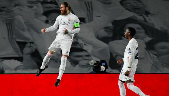 Sergio Ramos anotó el segundo gol del partido. (Foto: UEFA.com)