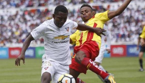 Edison Realpe, futbolista de la Liga de Quito, falleció en un accidente de tránsito. (Foto: @LDU_Oficial)
