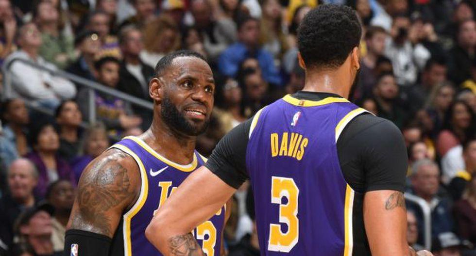 Lakers busca su cuarto triunfo consecutivo en la temporada de NBA ante Hawks. (Foto: AFP)