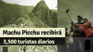 Amplían aforo de Machu Picchu: ahora recibirá hasta 3,500 turistas diarios