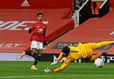 Manchester United vs. Liverpool: Marcus Rashford convirtió el 2-1 en el duelo de FA Cup | VIDEO
