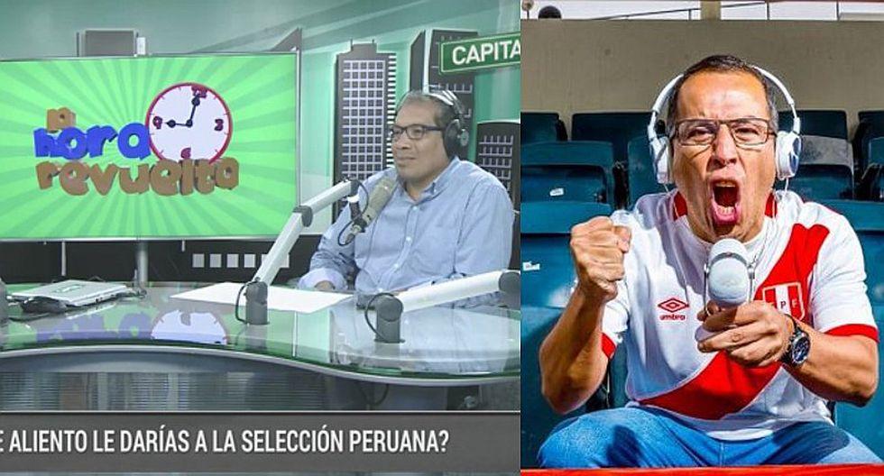 Hincha se quiebra en programa en vivo al recordar a Daniel Peredo