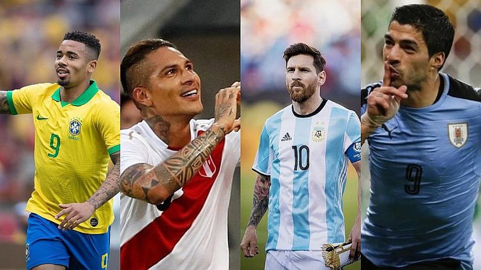 Copa América 2019 | El ránking de las selecciones con mayor valor en el mercado | FOTOS