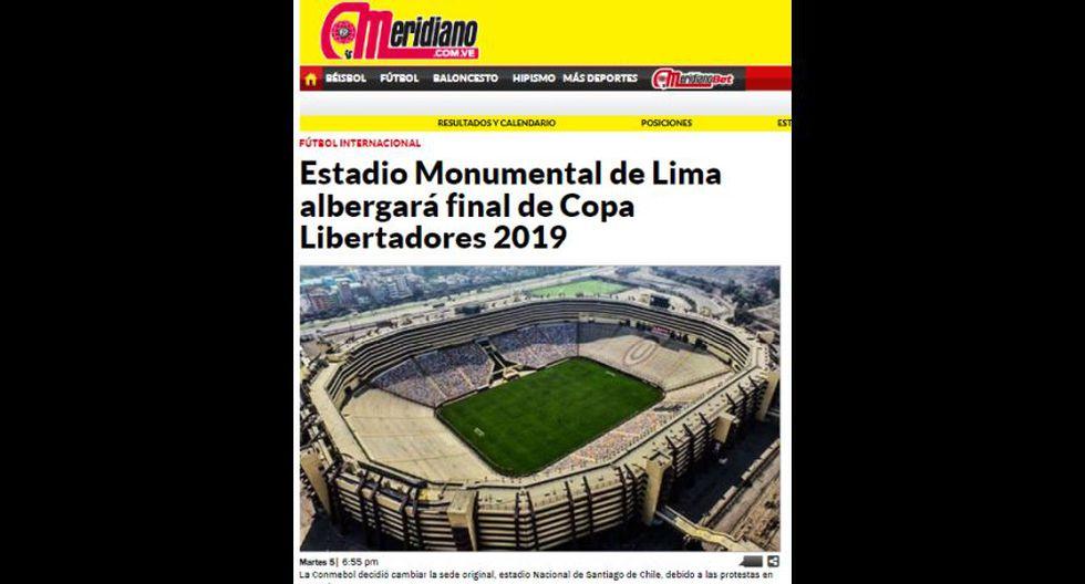 El Meridiano (Venezuela).