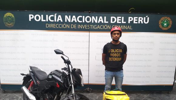 Detenido actuaba en complicidad con alias 'Caraqueño' y se hacían pasar como repartidores delivery (GEC)