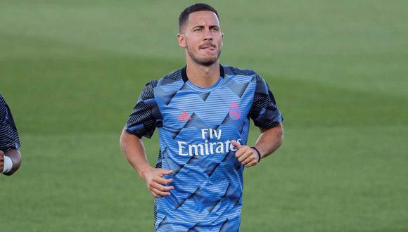Eden Hazard espera ser considerado por Real Madrid para el duelo ante Liverpool. (Foto: EFE)