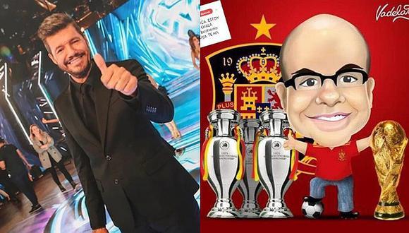 Mister Chip le pega durísimo a Marcelo Tinelli por descenso de su equipo