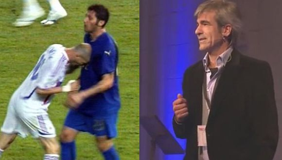 Árbitro de la final de Alemania 2006 reveló como expulsó a Zidane [VIDEO]