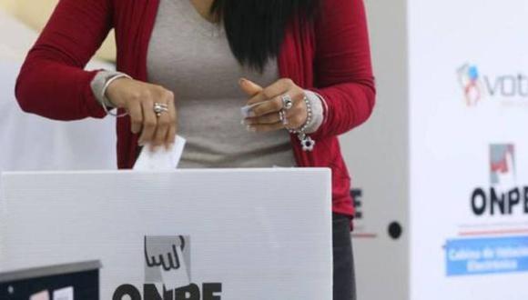 Las Elecciones Generales 2021 se realizarán el domingo 11 de abril. (Foto: ONPE)