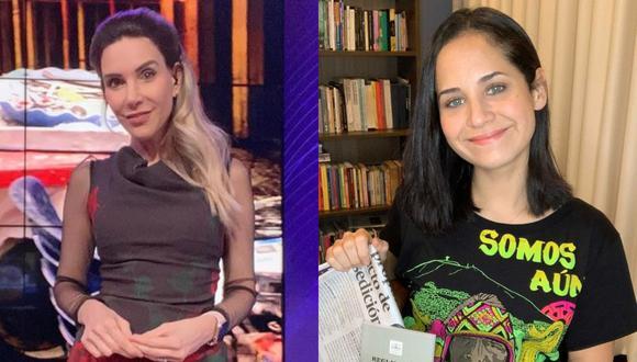 Juliana Oxenford se defiende tras comentarios contra Sigrid Bazán. (Foto: @julianaoxenford.oficial/@sigrid_bazan).