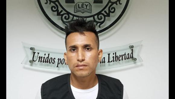 El detenido es investigado por el homicidio de Juan Carlos Tataje Vásquez (Foto: Policía Nacional).