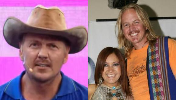 """'Gringo Karl' y su conmovedor mensaje a 'Flor de Huaraz' en """"Magaly TV: La Firme"""". (Foto: ATV/GEC)."""