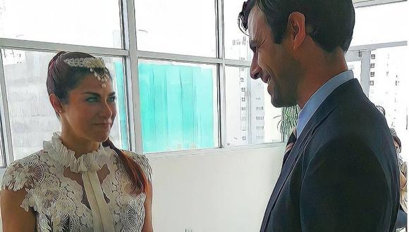 Xoana González se casó en el distrito de Miraflores. (Foto: @xoanaoficial)