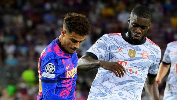 Barcelona cayó 3-0 en su estreno de la Champions League 2021-22. (Foto: AFP)