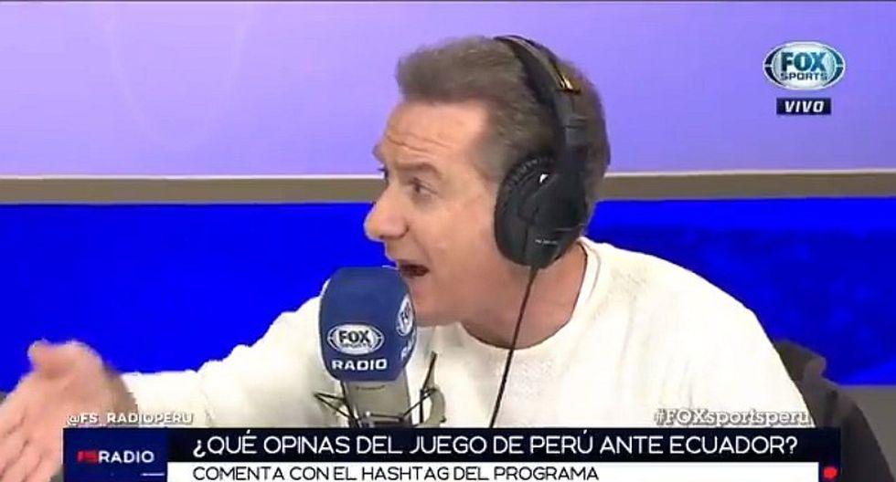 Perú vs. Ecuador   Eddie Fleischman y la critica a Ricardo Gareca por no tener reemplazante para Cueva   VIDEO