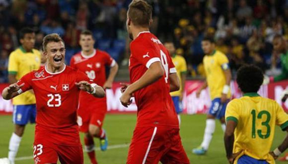Suiza va sin presión a Brasil 2014