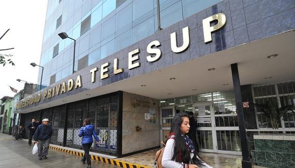 Telesup exige a la Sunedu que acate una medida cautelar emitida a su favor por el Poder Judicial. (FOTO. Telesup)