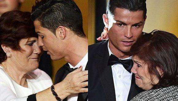 Cristiano Ronaldo y el duro momento que vive junto a su madre