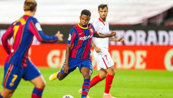 Desde las 14:00 horas, Barcelona de Leo Messi recibe a Sevilla en el partido de LaLiga Santander, fecha 5. Aquí podrás seguir en vivo y online todas las incidencias. FOTO: AFP