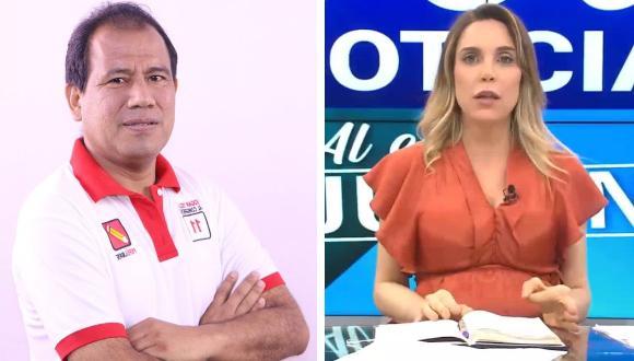 La periodista le preguntó en varias ocasiones al congresista si considera a Movadef brazo político de Sendero Luminoso, a lo que Tello responde de manera insólita.