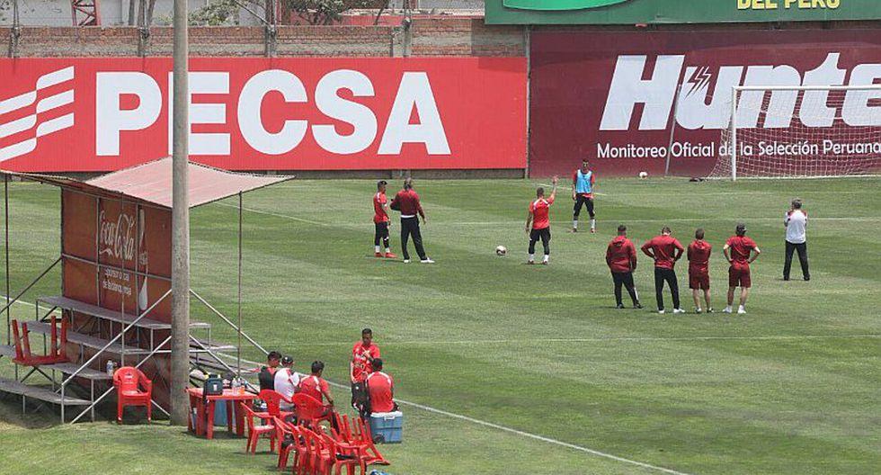Perú hizo última práctica previo al duelo con Nueva Zelanda [GALERÍA]
