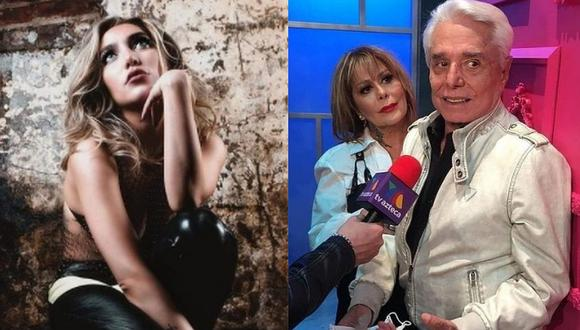 Alejandra Guzmán se pronuncia sobre las acusaciones de Frida Sofía contra Enrique Guzmán. (Foto: @ifridag/@laguzmanmx)