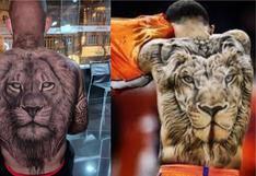Alianza Lima: A lo Memphis Depay, el increíble tatuaje de Arley Rodríguez