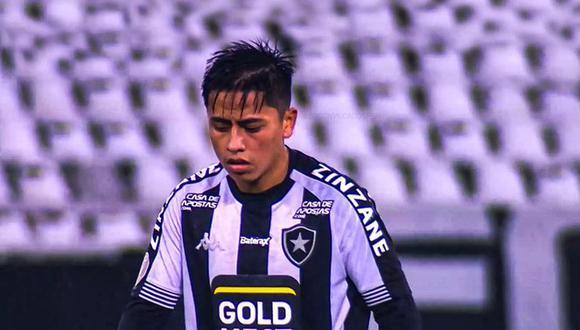 Lecaros llegó al cuadro carioca en enero de 2019 procedente de Real Garcilaso, ahora Cusco FC. (Foto: Difusión)