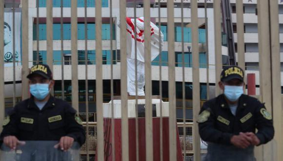 Universitario de Deportes tomará medidas después del vandalismo en el estadio Monumental. (Foto: Lino Chipana Obregón / GEC)
