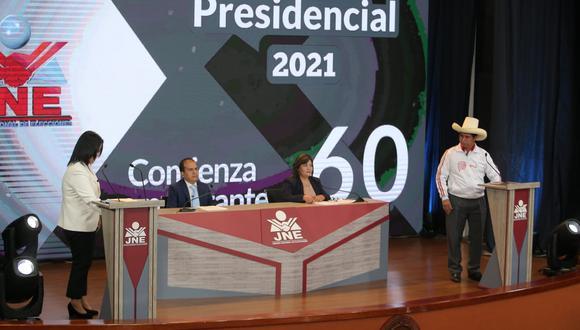 Keiko Fujimori y Pedro Castillo se enfrentan este domingo en debate a una semana de la Segunda Vuelta de las Elecciones 2021. (Foto: Grupo El Comercio / @photo.gec)
