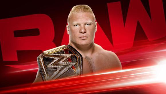 Brock Lesnar aparecerá en el primer episodio de Raw del 2020. (Foto: WWE)