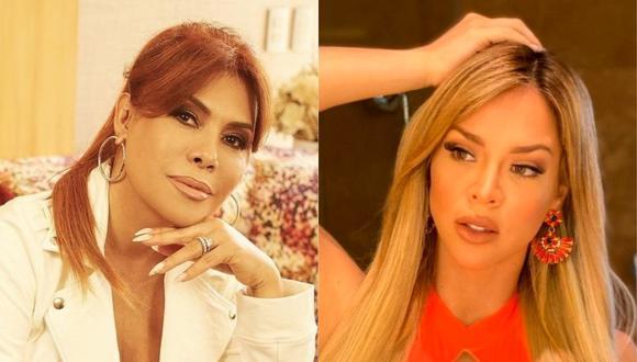 Magaly Medina se refirió a la llamada telefónica de Sheyla Rojas en programa radial de Carlos 'Tomate' Barraza. (Foto: @magalymedinav/@_sheyoficial)/@_sheyoficial)