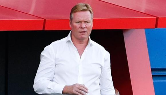 Koeman asumió el cargo de entrenador de Barcelona tras dejar la selección de Holanda. (Foto: AFP)
