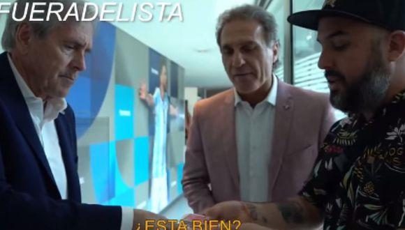 """Mago Plomo sorprende a exDT de Boca Juniors con alucinante truco de magia: """"Me pusiste la piel de gallina"""" [VIDEO]"""