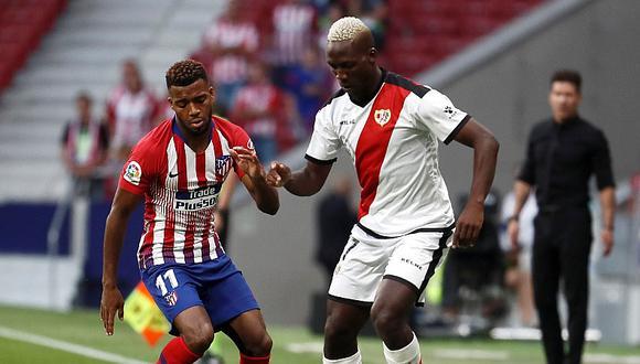 Atlético Madrid derrotó 1-0 a Rayo Vallecano: con Luis Advíncula por la Liga