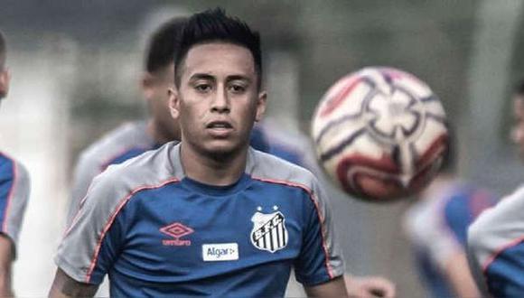 Christian Cueva llegó a Santos a inicios del 2019, procedente del Krasnodar ruso. (Foto: Santos FC)