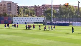 LaLiga: El Barcelona se prepara para su partido más importante
