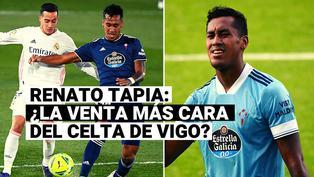 Renato Tapia: Conoce porqué el peruano puede ser la venta más cara del Celta de Vigo