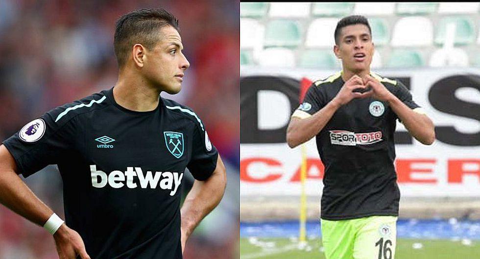 Chicharito Hernández sería rival de Paolo Hurtado en Turquía
