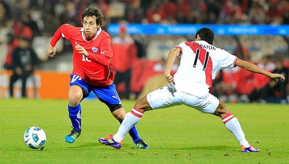 Selección peruana: Jorge Valdivia volverá a Chile para duelo ante Perú