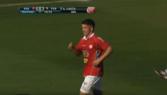 Perú - Uruguay | Revive el primer gol de Gabriel Costa en el Centenario de Montevideo | VIDEO