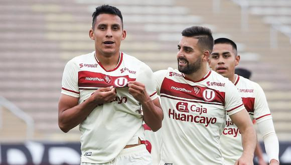 Alex Valera anotó un doblete en el triunfo de la 'U' sobre la Universidad César Vallejo. Foto: Universitario de Deportes.