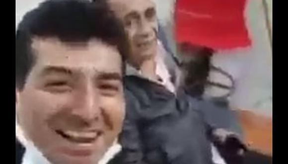 (Captura de video difundido en redes sociales)