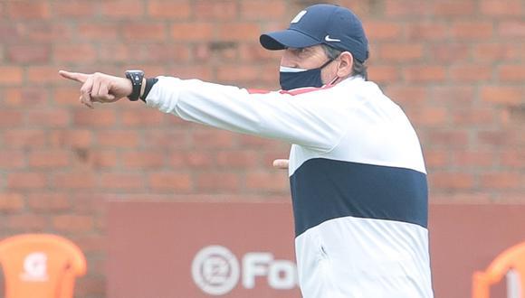 Mario Salas lamentó la falta de eficacia de Alianza Lima para concretar en gol sus situaciones de ataque. (Foto: Alianza Lima)