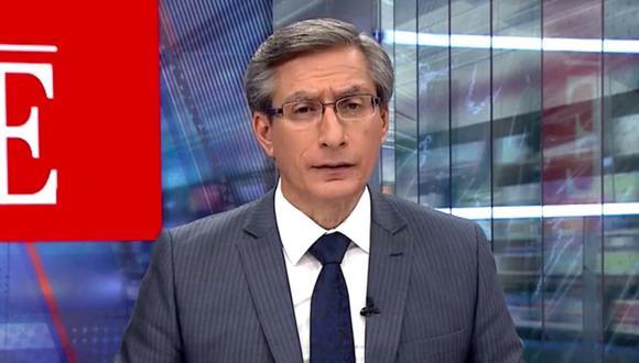 El periodista de América Televisión se dirigió a los simpatizantes de Fuerza Popular luego del desorden público que se registró el último miércoles en el Centro de Lima.