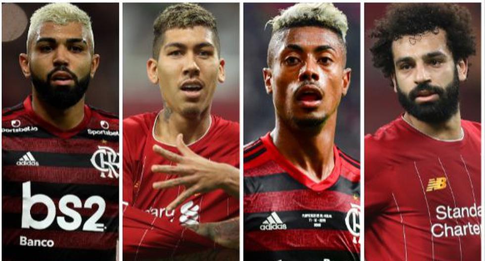 El valor de los titulares de Liverpool y Flamengo que estarán en la final del Mundial de Clubes 2019. (Foto: AFP)