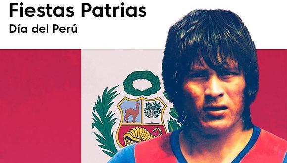 Fiestas Patrias: Liga Española recuerda a Sotil y envía mensaje a Perú