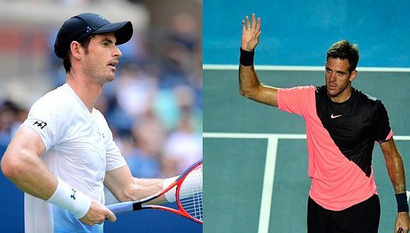 La sincera confesión de Andy Murray sobre Juan Martín Del Potro