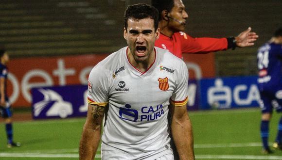 Santiago Pallares hizo 14 goles con Atlético Grau en la Liga 2.